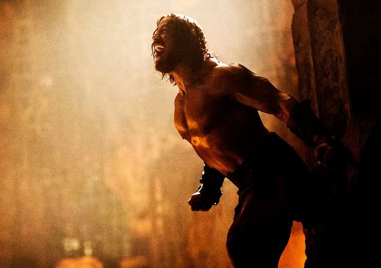 Two New Photos From Hercules, Starring Dwayne Johnson