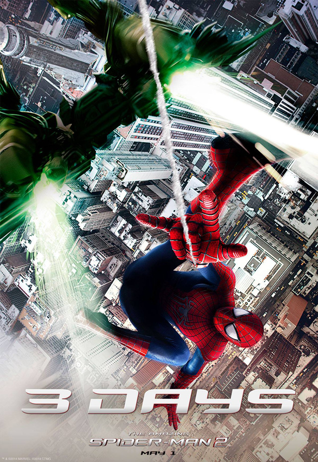 The Amazing Spider-Man 2 Releases More Promo Images