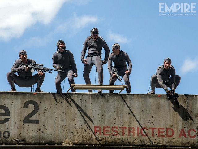 Three New Behind the Scenes Stills From Dawn of the Planet of the Apes
