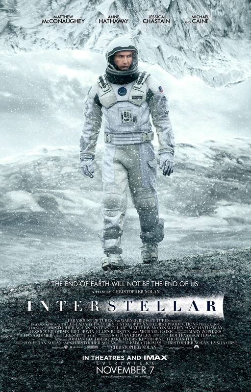 The New Poster for Christopher Nolan's Interstellar