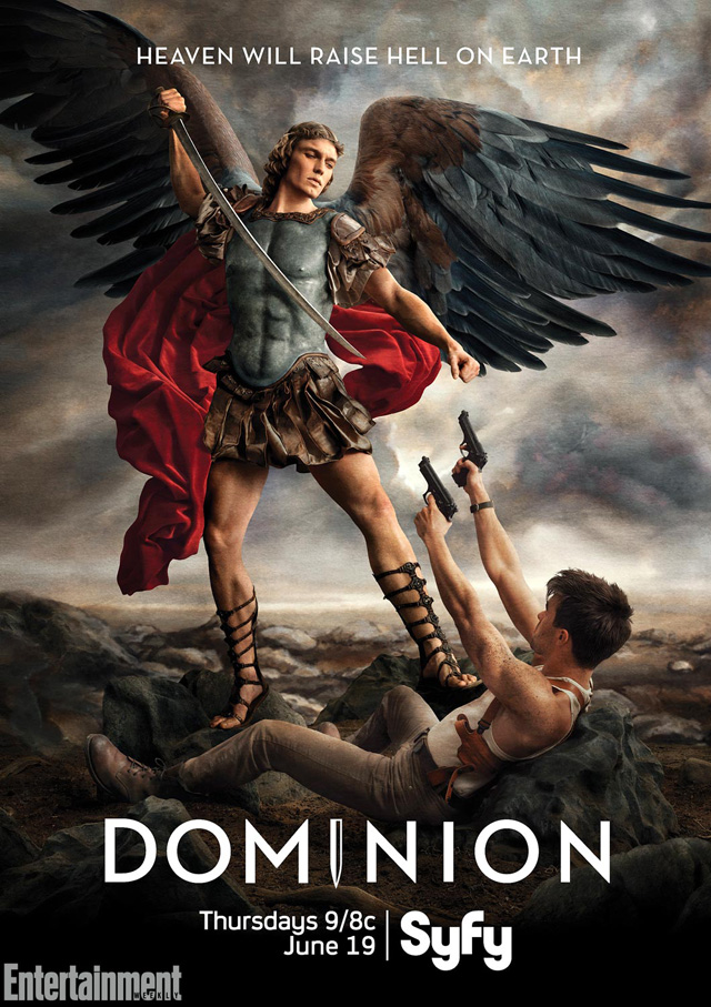 Syfy's Dominion Takes on Renaissance Art for its Official Poster