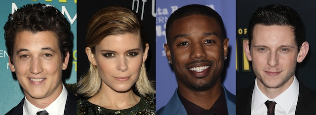 Jamie Bell, Michael B. Jordan, Kate Mara and Miles Teller are The Fantastic Four!