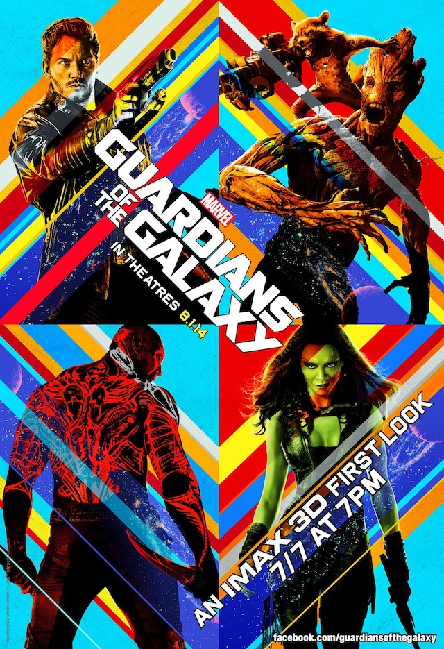 See 17 Minutes of Guardians of the Galaxy Early in Select IMAX Theaters