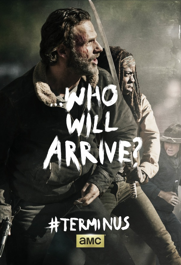 The Walking Dead Season Finale Poster Wonders 'Who Will Arrive?'