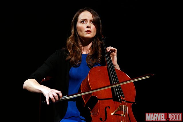 Take a Look at Amy Acker as Agents of S.H.I.E.L.D.'s Portland Cellist