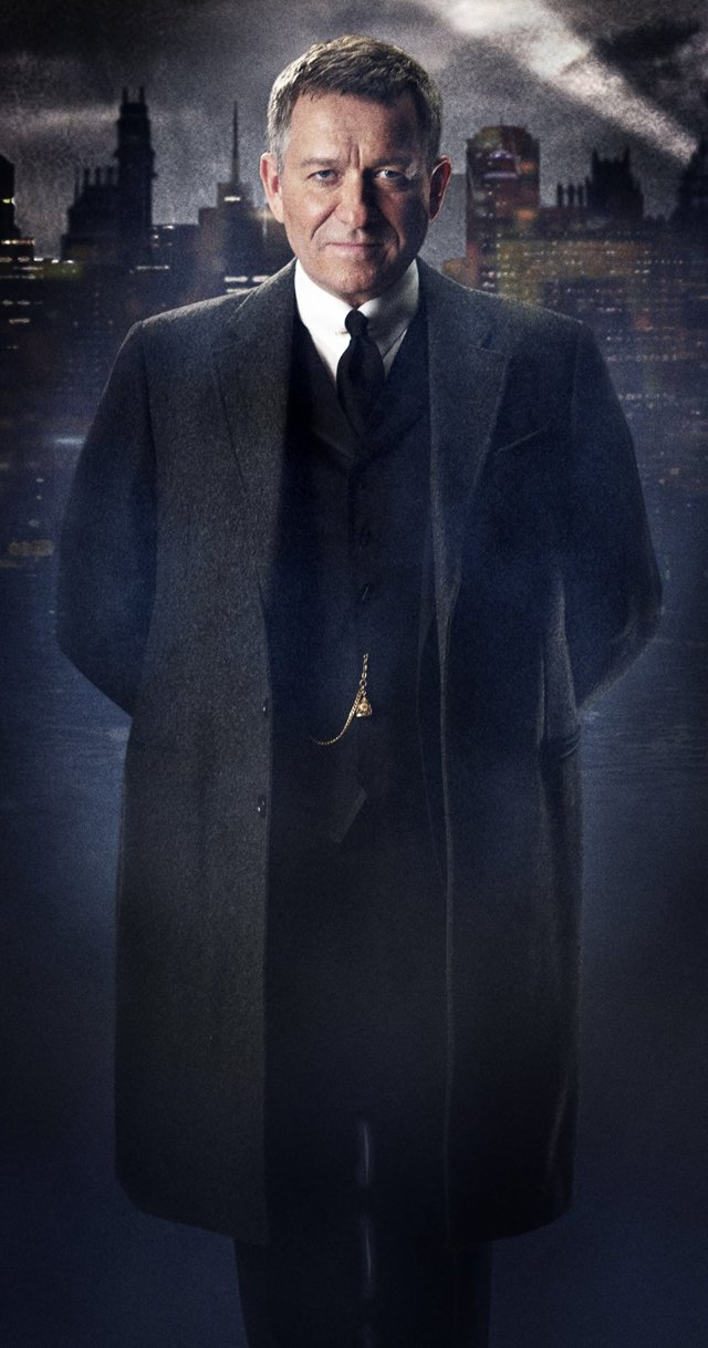 Sean Pertwee is Alfred Pennyworth in a New Official Image from Fox's Gotham