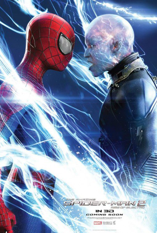 Third New International Poster for The Amazing Spider-Man 2