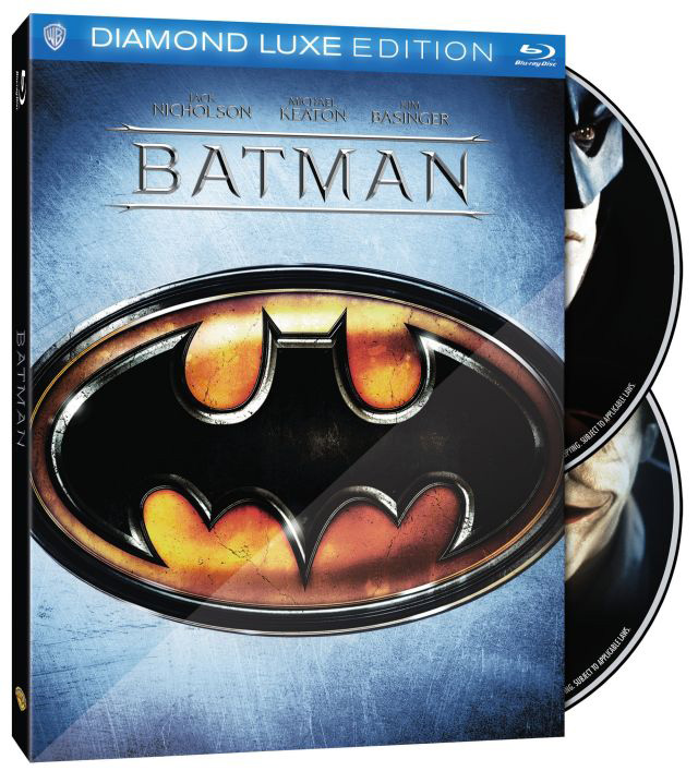 Warner Bros. Reveals 25th Anniversary Blu-ray for Tim Burton's Batman