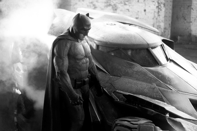 Zack Snyder Reveals Batman and the Batmobile!