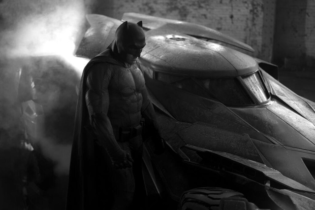 Zack Snyder Officially Reveals the Batmobile!