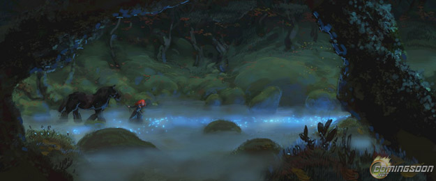 pixar brave concept art. um looks like concept art to