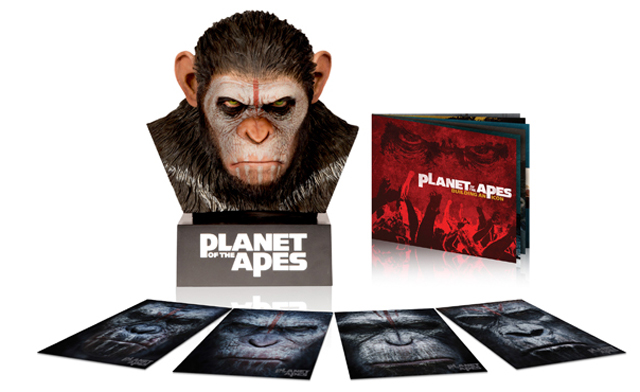 Dawn of the Planet of the Apes Comes to Blu-ray in a Deluxe Bust of Caesar's Head
