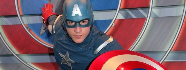 Disneyland Previews Captain America: The Living Legend and Symbol of Courage Exhibit