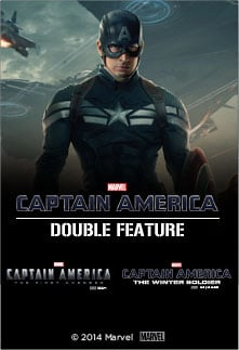 AMC Theatres Offering Captain America Double Feature on April 3