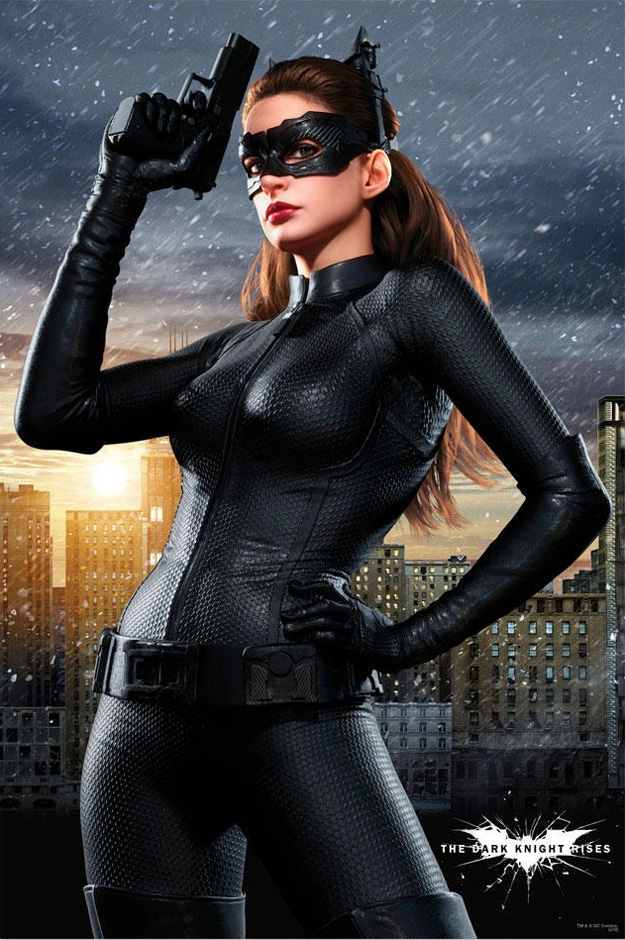 Catwoman Dark Knight Rises poster