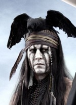 depp loneranger Johnny Depp Explains the Look of Tonto in The Lone Ranger