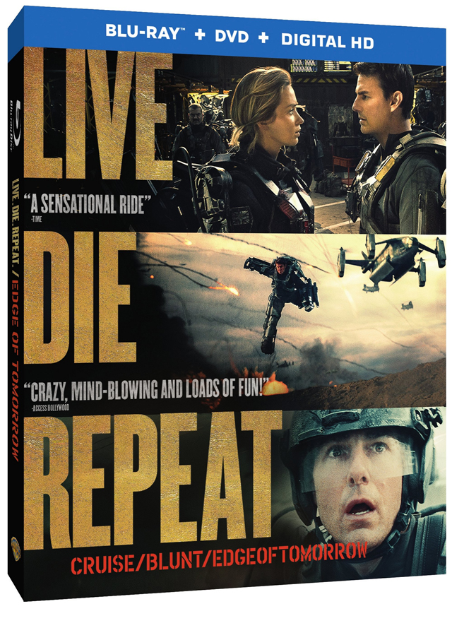 Edge of Tomorrow Lands on Blu-ray and DVD October 7