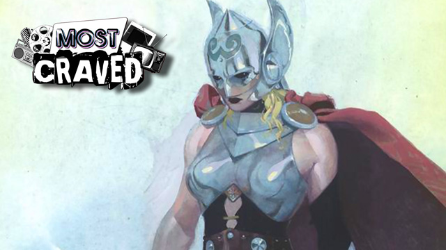 Marvel's Female Thor and a Comic-Con Preview on This Week's Most Craved!