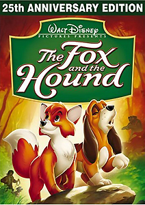 The Fox and the Hound (25th Anniversary Edition) Blu-ray and DVD ...