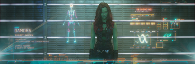 A New Guardians of the Galaxy Featurette Explores Gamora