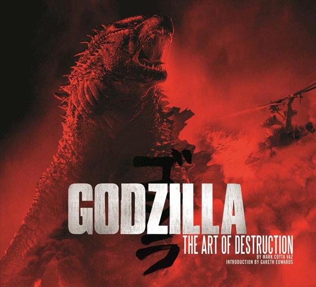 New Godzilla Image on Cover of The Art of Destruction Book