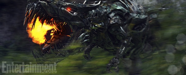 New Images Reveal Transformers: Age of Extinction's Full Robot Roster