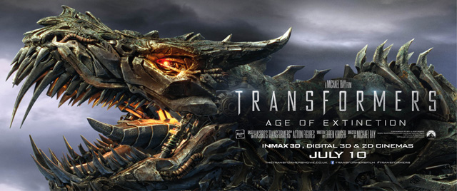 The International Grimlock Banner for Transformers: Age of Extinction