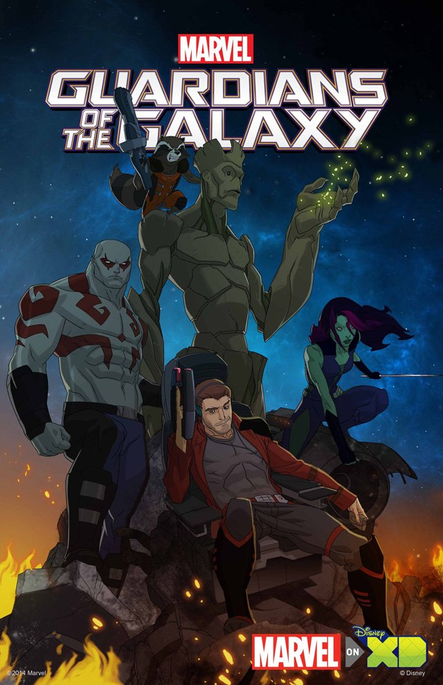 NYCC: Animated Guardians of the Galaxy Series Coming in 2015!