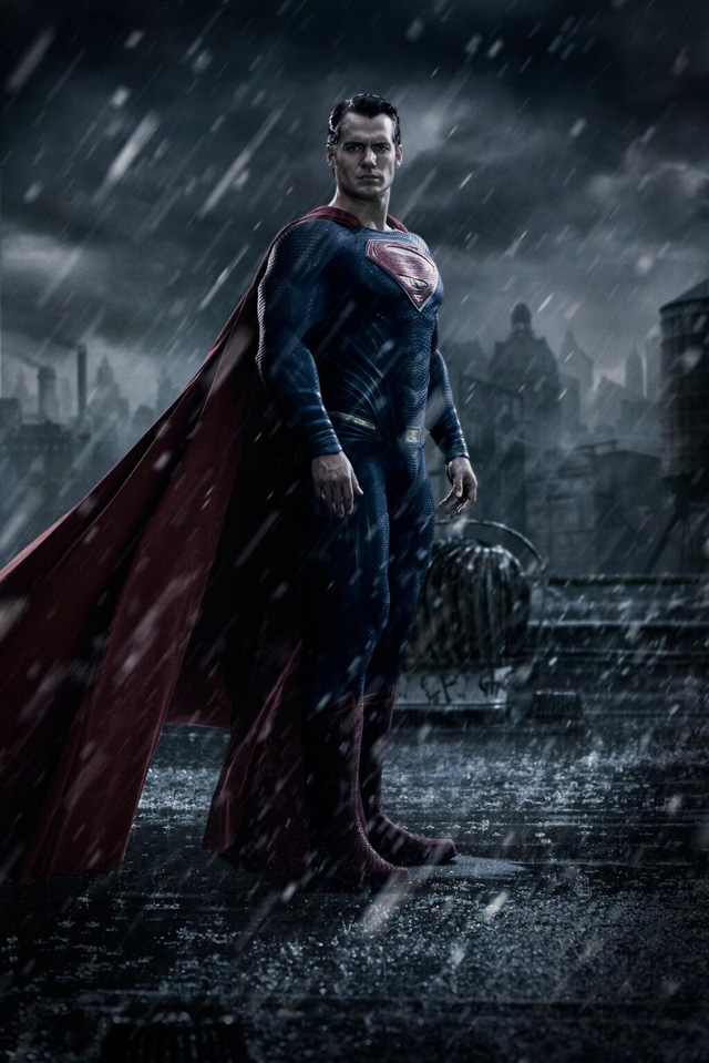 First Look at Superman in Batman v Superman: Dawn of Justice!