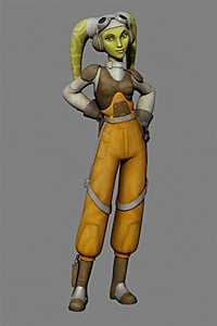 Meet Hera, the Pilot, From Star Wars Rebels