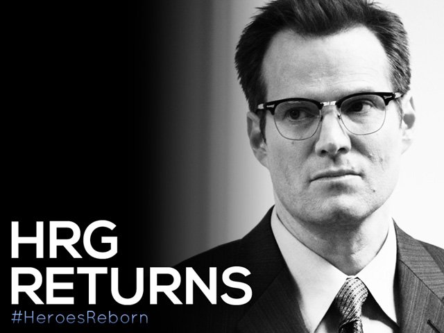 Jack Coleman to Return in Heroes Reborn as HRG