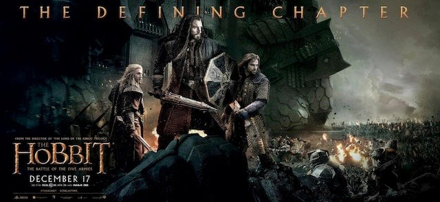 All Must Choose a Side in the First The Hobbit: The Battle of the Five Armies TV Spot