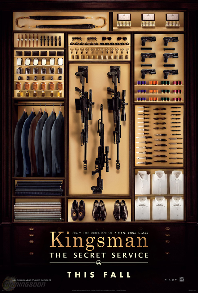 Exclusive: The Teaser Poster for Matthew Vaughn's Kingsman: The Secret Service