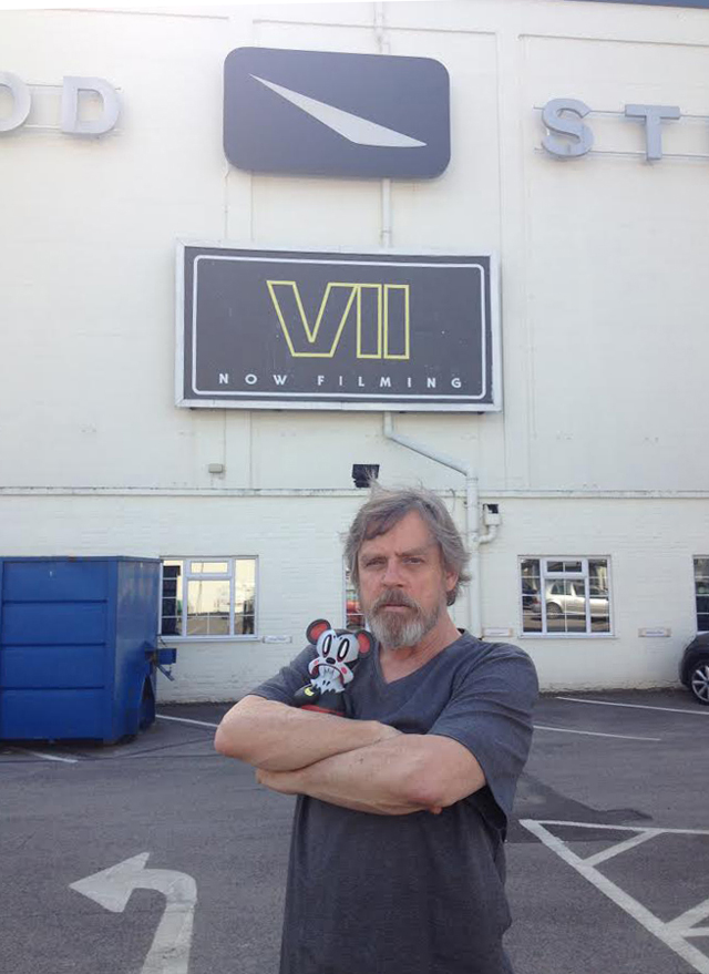 A New Photo Teases Mark Hamill's Star Wars: Episode VII Look