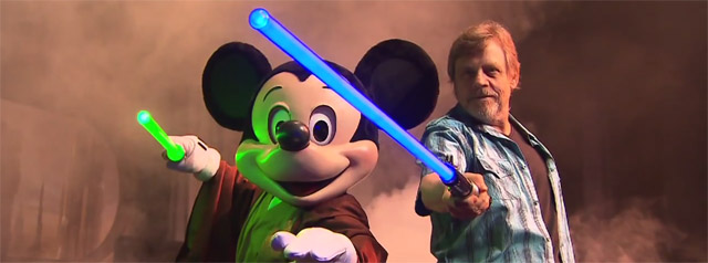 Mark Hamill Greets Fans from Disney Hollywood Studios' Star Wars Weekends