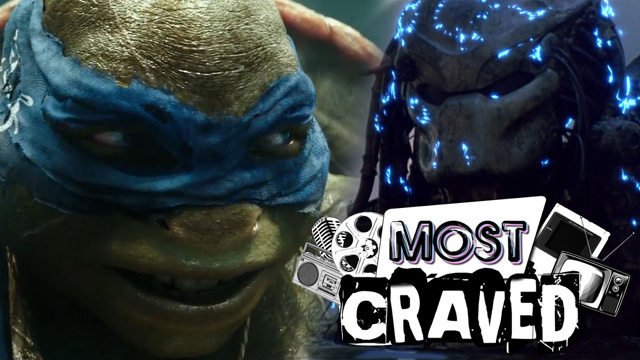 Shane Black's Predator and the New Teenage Mutant Ninja Turtles Trailer on This Week's Most Craved!