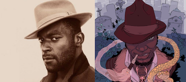 Michael James Shaw Cast and Constantine's Papa Midnite