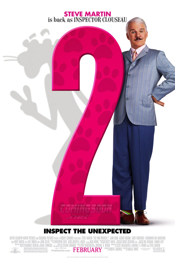 Exclusive: The Pink Panther 2 Poster!