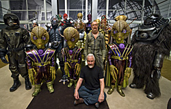 rickbakerfeaturette Exclusive: Rick Baker and the Aliens of Men in Black 3