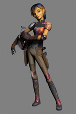 Star Wars Rebels Introduces Sabine
