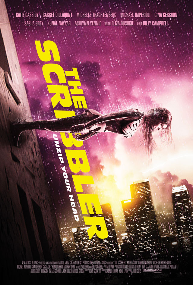 The Trailer for Graphic Novel Adaptation The Scribbler, Starring Katie Cassidy