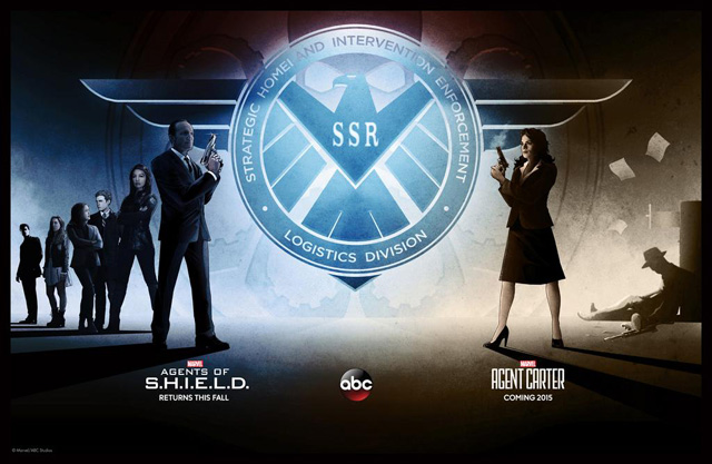 Comic-Con: Marvel's Agents of S.H.I.E.L.D. and Agent Carter Meet on Convention Exclusive Poster