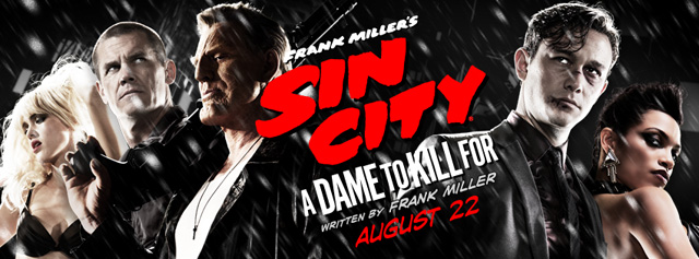 Comic-Con: Frank Miller's Sin City: A Dame to Kill For Panel Live Blog