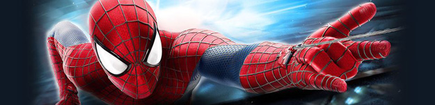 Spidey Clings to Oscorp on a New Banner From The Amazing Spider-Man 2