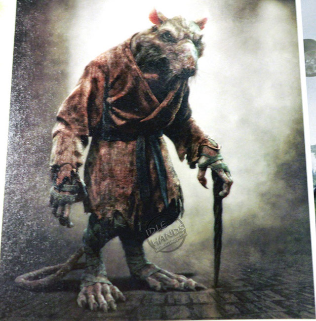 New Teenage Mutant Ninja Turtles Concept Art Reveals Shredder and Splinter