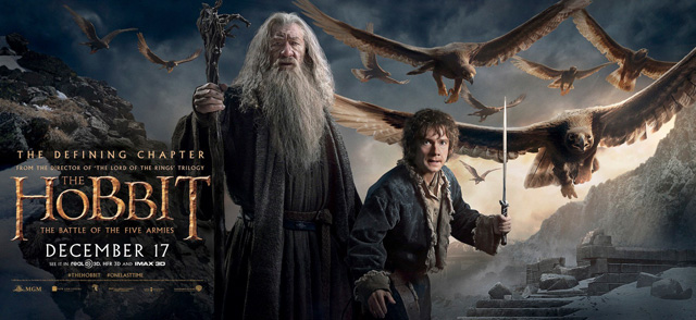 The Final Trailer for The Hobbit: The Battle of the Five Armies!