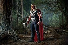thoravengerstv Video: Chris Hemsworth on Playing Thor in The Avengers