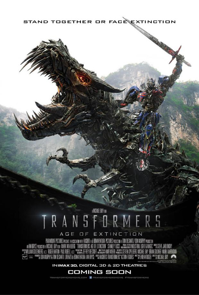 New Transformers: Age of Extinction Poster, Trailer in 3 Days