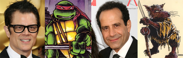 Teenage Mutant Ninja Turtles Adds Johnny Knoxville and Tony Shaloub!
