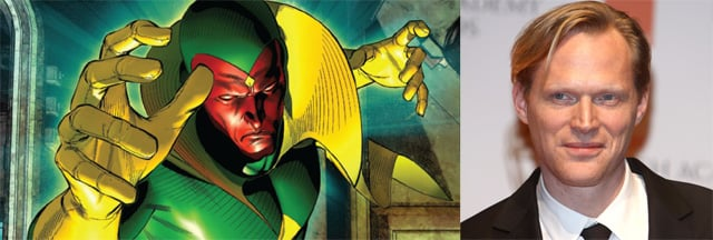 Paul Bettany to Play The Vision in Avengers: Age of Ultron?